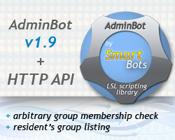AdminBot and HTTP API now can check residents' groups