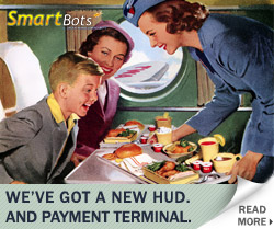 SmartBots new HUD and payment Terminal