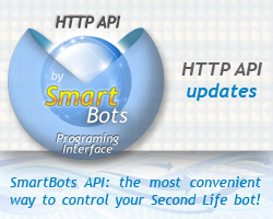 HTTP API updates: control your Second Life bot