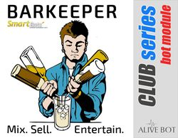 Barkeeper - alive Second Life bot by SmartBots