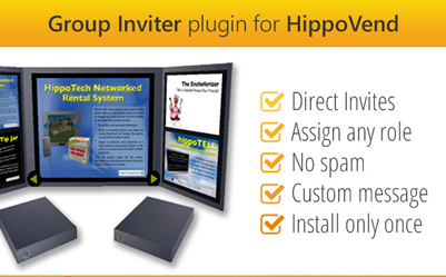 HippoVend Plugin!