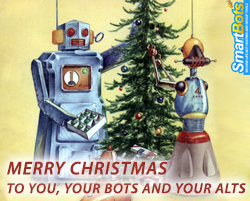 Merry Christmas from Second Life bot hosting!