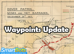 Waypoints for second life bots updated