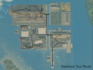 Basilique Tour Route