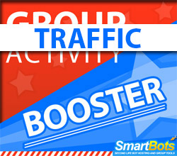 Group Activity Booster - boosting traffic!