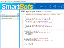 Second Life bots programming in Javascript