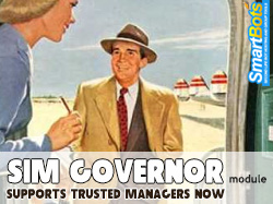 Sim Governor module now supports Trusted Managers