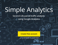 SimpAnalytics - collect and analyze your parcel traffic in Google Analytics